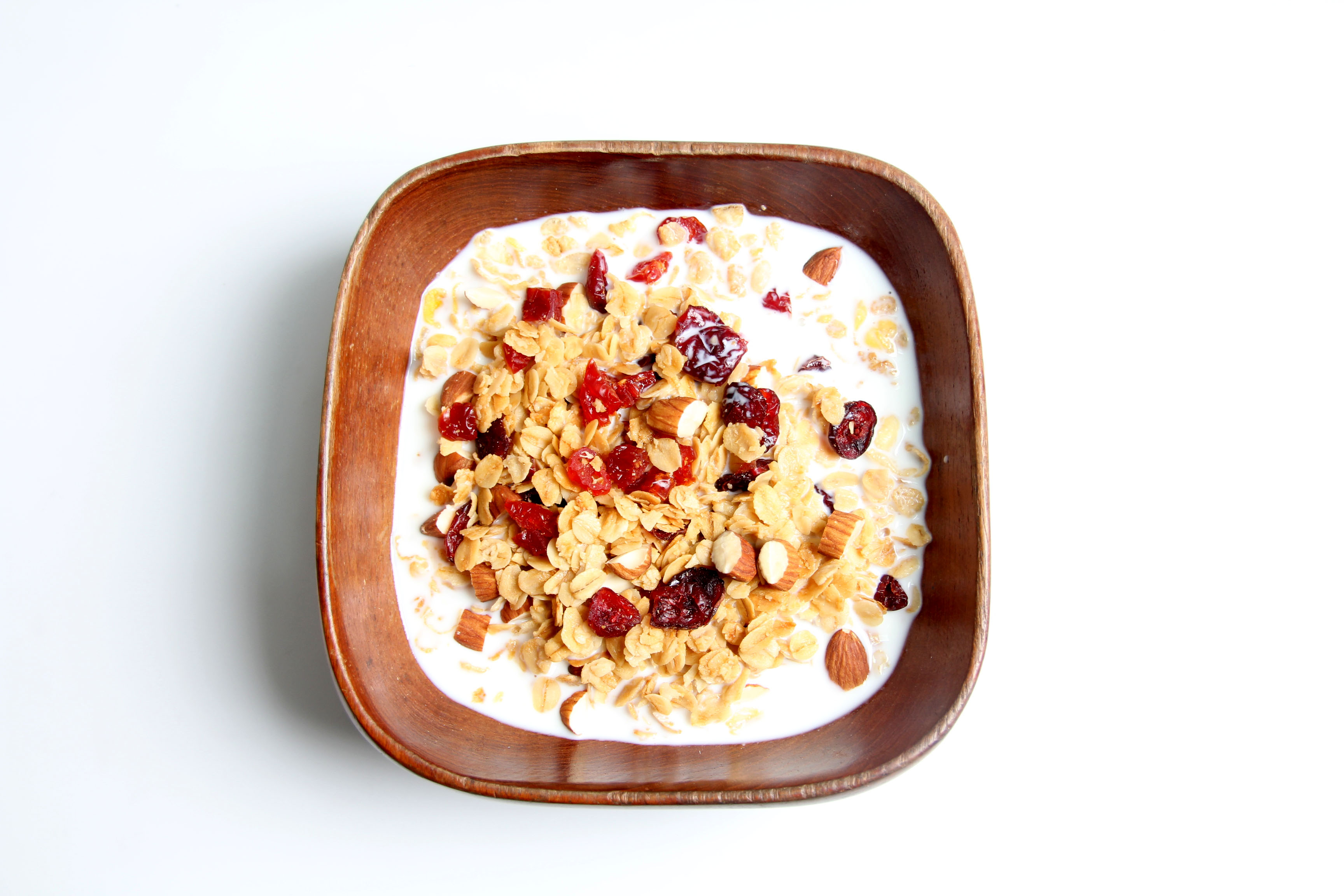 press 31102016 granola muesli in the bowl