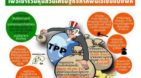 เอฟทีเอว็อทช์ แฉ รัฐบาล คสช.โค้งสุดท้ายเตรียมยื่นเข้า CPTPP ตัดหน้ารัฐบาลเลือกตั้ง